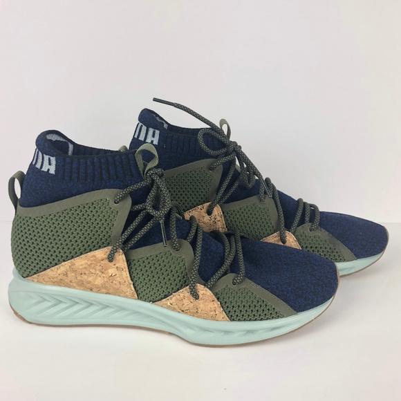 pretty nice 98d09 9e4f1 Puma Ignite EVOKNIT Wave MID Sneakers Men Shoe 8.5